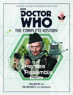 Doctor Who The Complete History Volume #04 Collectors Hardback Book Hachette Partworks